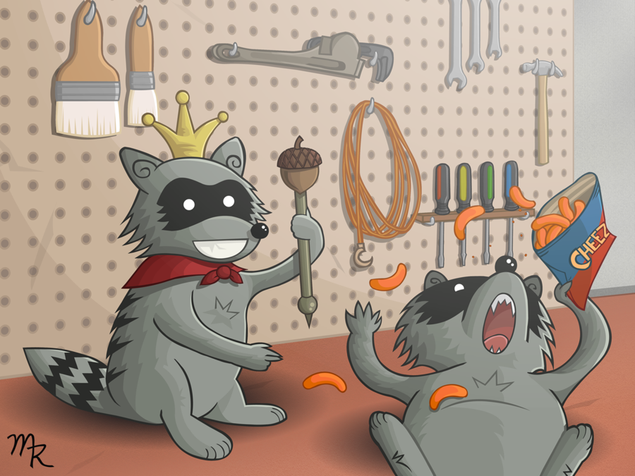 I'm a Raccoon King